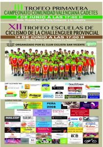 CARTEL CAMPEONATO CICLISMO 2014